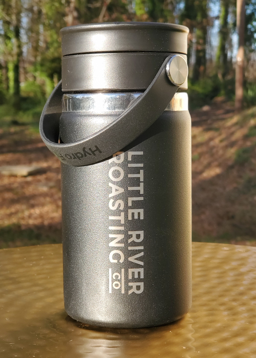 Black | Hydroflask 12oz Insulated Coffee with Flex Sip Lid