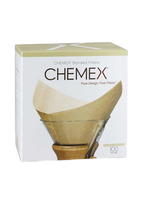 Natural | CHEMEX® Bonded Filters Pre-Folded Squares