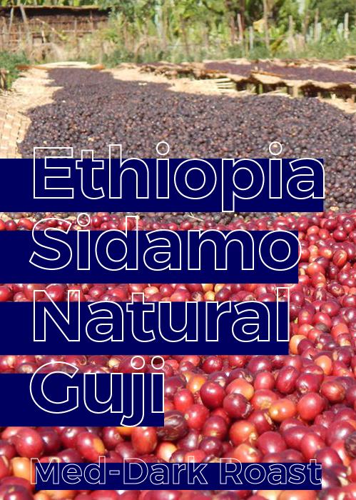 Ethiopia Sidamo Guji Natural | Medium-Dark Roast