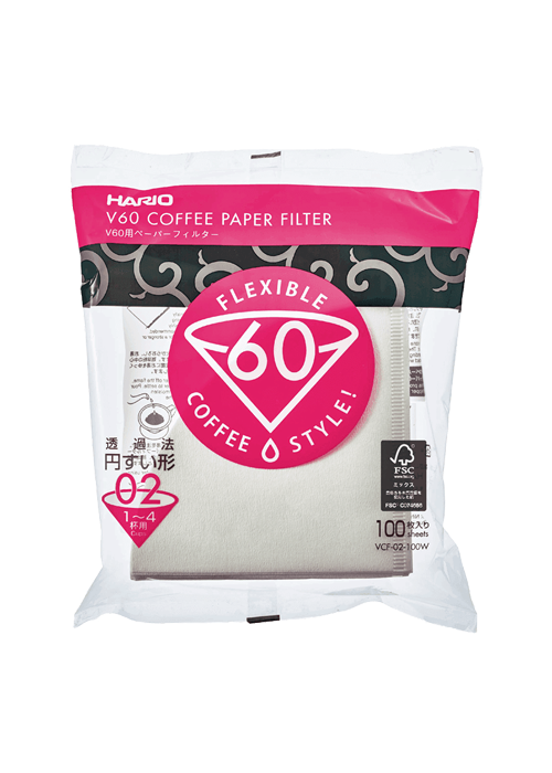 Hario White Paper Coffee Filters
