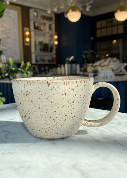 Heirloom Pottery & Co. Handmade Cappuccino Cup