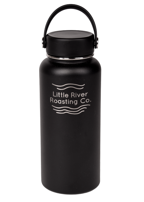 Black | Hydroflask 32oz Widemouth Insulated Bottle