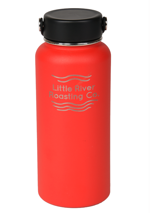 Red | Hydroflask 32oz Wide Mouth Insulated Bottle
