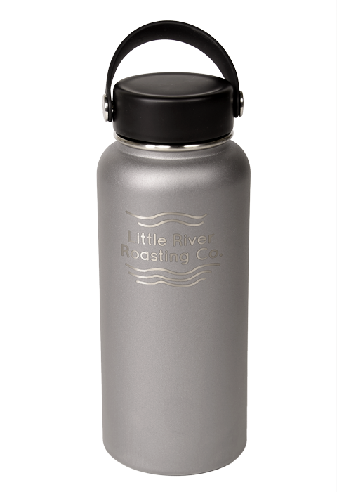 Silver | Hydroflask 32oz Wide Mouth Insulated Bottle